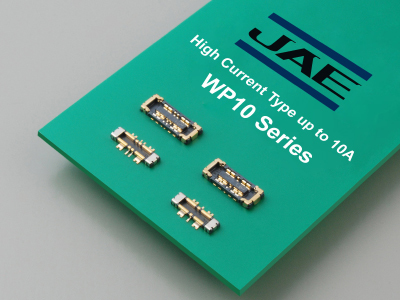 Industry's Smallest-in-class High-current Compatible Board-to-board Connector WP10 Series has Been Added to the Lineup