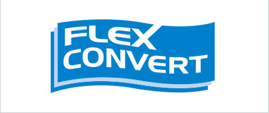 "Introducing the Converting Technology brand ""FLEXCONVERT""."
