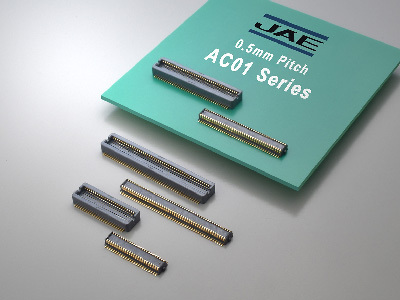 2.5mm and 3.0mm Stacking Height AC01 Series Board-to-Board Connectors for Industrial Equipment Market Have Been Launched