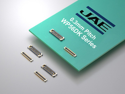 JAE Announces the WP56DK Series Board-to-board (FPC) Connector Achieving 0.3mm Terminal Pitch