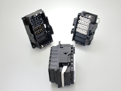 KN06 Series, Rectangular, Single-engagement, Modular Industrial Connector
