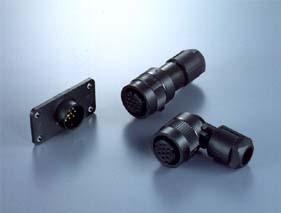 Panel Mount 8 Pin Circular Connector Set