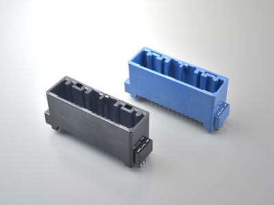 MX34Q Through-hole Reflow Type Expands the MX34 Series of Compact High-density Automotive Connectors