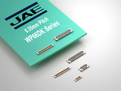 JAE Announces Launch of the WP66DK Series Their Smallest Board-to-board (FPC) Connector Yet