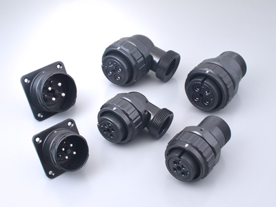 JL10 Series, One-touch Locking Waterproof Circular Connector for Industrial Equipment