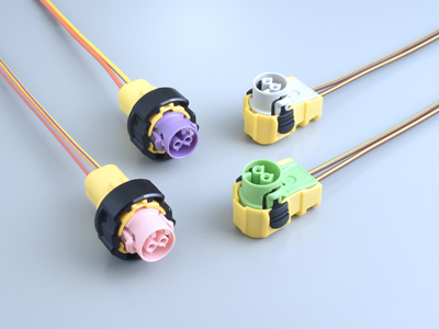 New MX72C / D Series Self-Rejecting Squib Connectors for the Automotive SRS (No Shorting Bar)