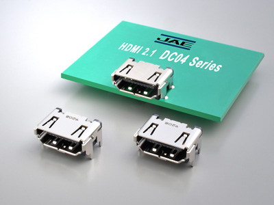 HDMI 2.1 Specification Approved DC04 Series Connectors