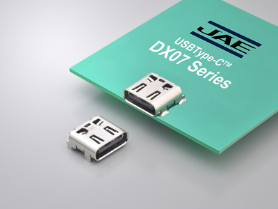 USB Type-CReceptacle with Longer Through-hole Legs Connector DX07 Series