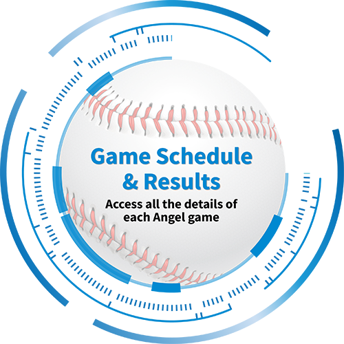 Game Schedule & Results : Access all the details of each Angel game