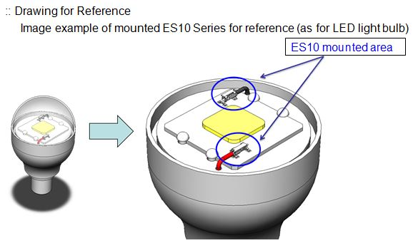 ES10 series Drawing for Reference