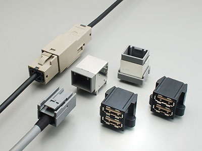 Variations of USB2.0 Compatible Connectors MX series supplied by JAE electronics